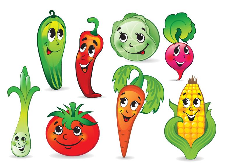 рисунок полезная еда и вредная еда